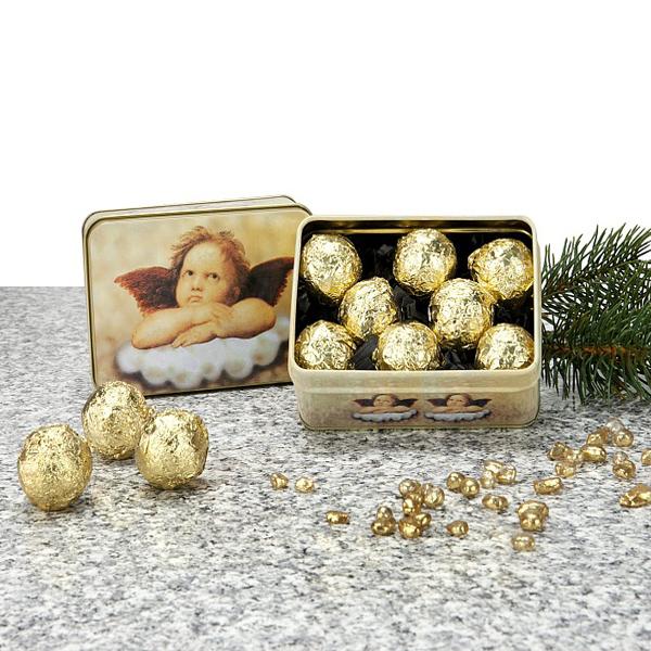 Raffael Pralinen als Werbegeschenk zu Weihnachten
