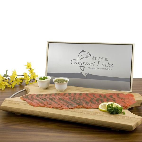 Gourmet Lachs 500g als Werbegeschenk