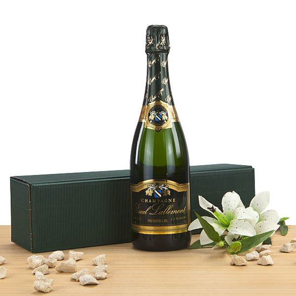 Champagner Pascal Lallement brut als Präsent