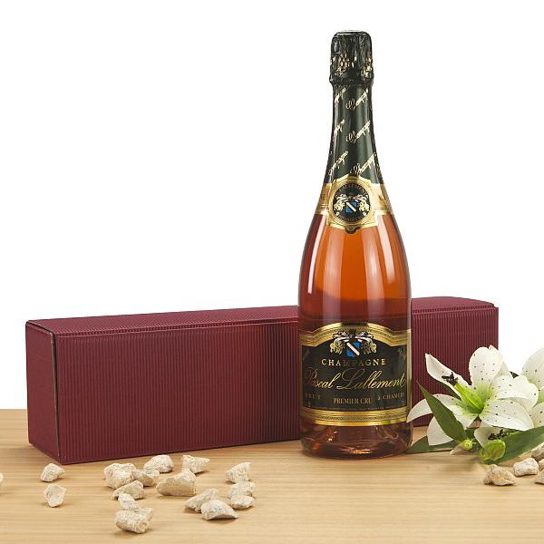 Champagner Pascal Lallement rosé als Präsent