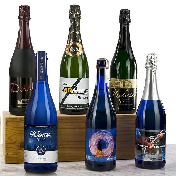 Champagner Pascal Lallement als Werbegeschenk