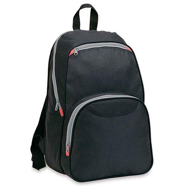Rucksack schwarz (bedruckbar als Werbegeschenk)