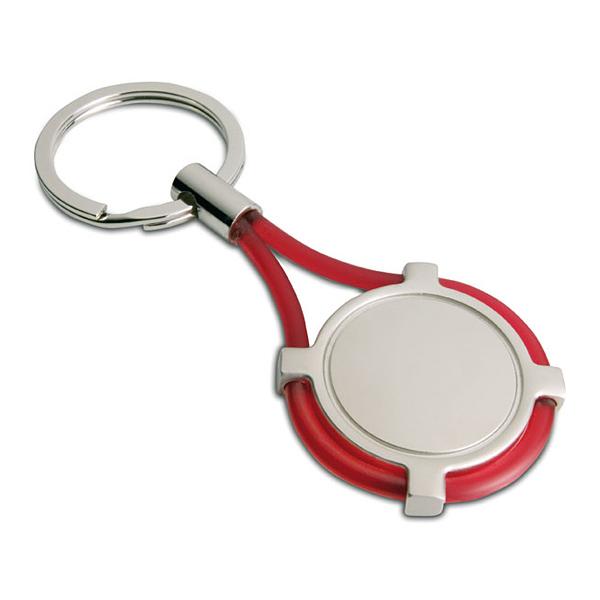 Runder Schlüsselanhänger (bedruckbar)