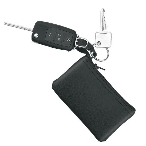Leder Schlüsselmäppchen mit Logo bedruckbar