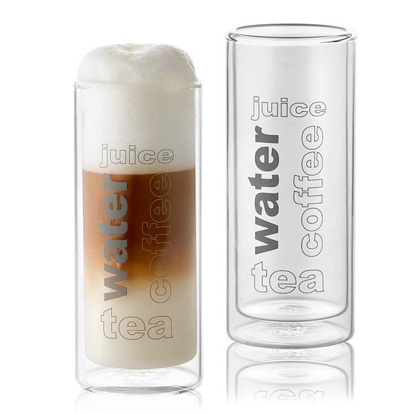 Thermoglas für Latte macchiato