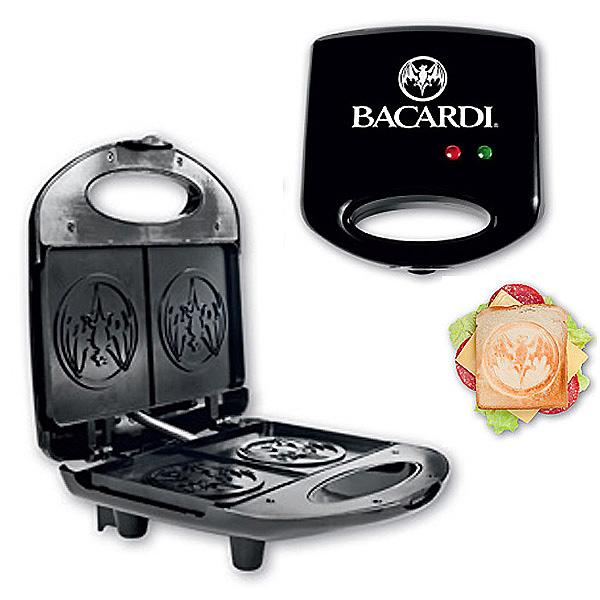 Sandwichmaker mit Logodruck