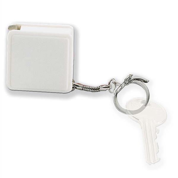 Schlüsselring mit Maßband (bedruckbar)