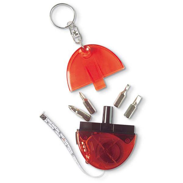 Schlüsselanhönger mit Werkzeug Set (bedruckbar)