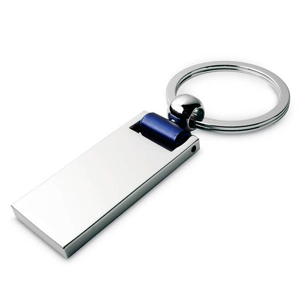 Metall Schlüsselring inkl. Anhänger (mit Logo bedruckbar)