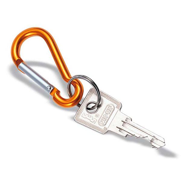 Karabinerhaken als Schlüsselanhänger (bedruckbar)