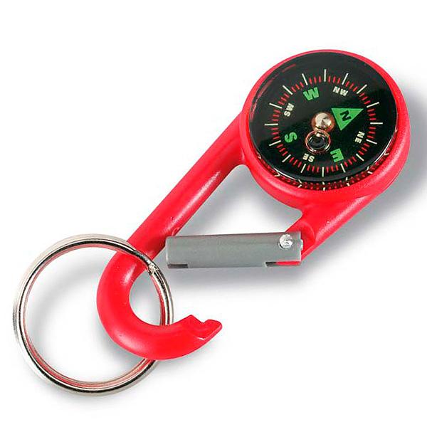 Karabiner Kompass Schlüsselanhänger (Werbegeschenk)