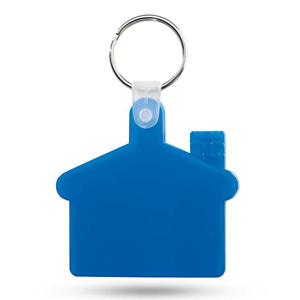 Haus-Schlüsselanhänger (bedruckbar)