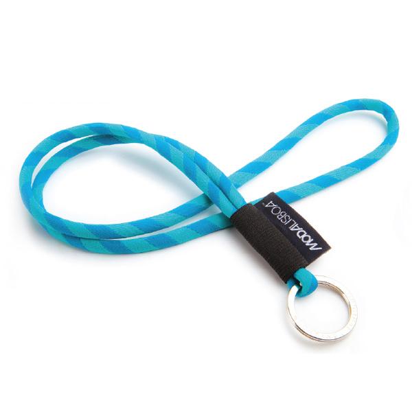 Lanyard – Schlüsselschnur mit Textillabel und Schlüsselring