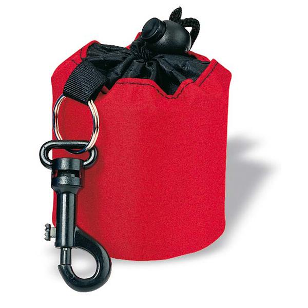 Schlüsselring mit Mini-Seesack (mit Logo bedruckbar)