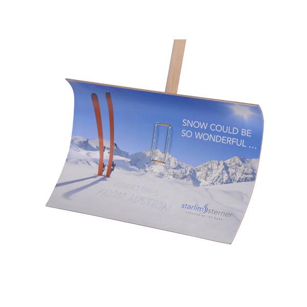 Schneeschaufel – Schneeschippe zum bedrucken als Werbegeschenk
