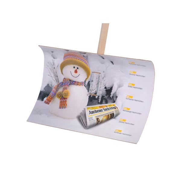 Schneeschaufel – Schneeschippe zum bedrucken als Werbeartikel