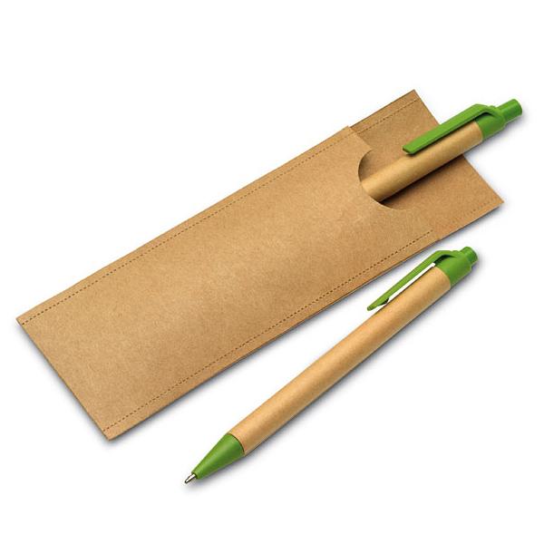 Umweltfreundliches Schreib-Set (bedruckbar)