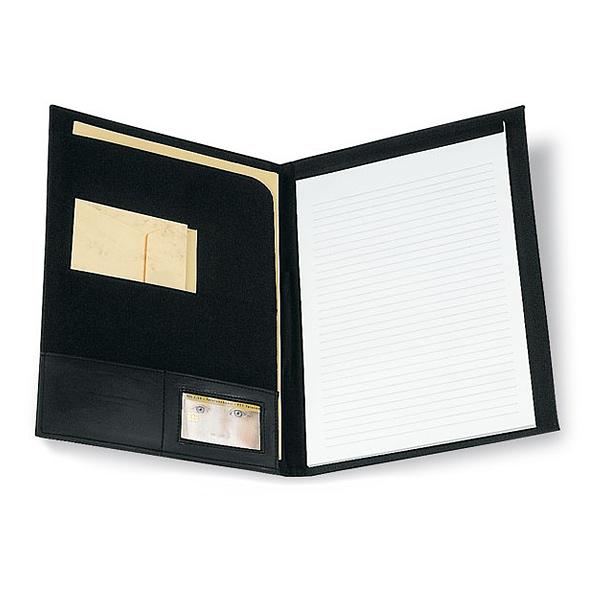 Dokumentenmappe mit Block (bedrucken als Werbemittel)