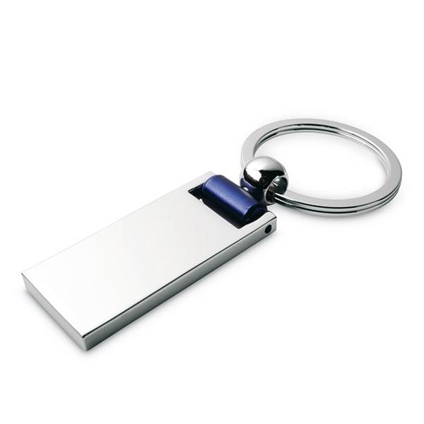 Schlüsselanhänger aus Metall (bedruckbar als Werbegeschenk)