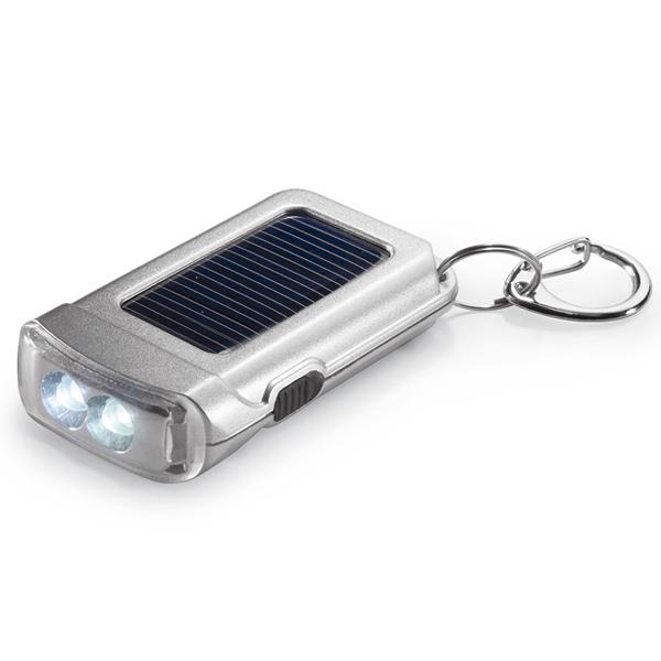 Solarbetriebene Taschenlampe (bedruckbar)
