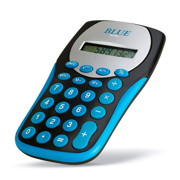 Taschenrechner  (als Werbeartikel bedruckbar)
