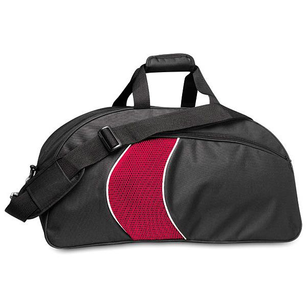 Farbige Sporttasche als Werbemittel