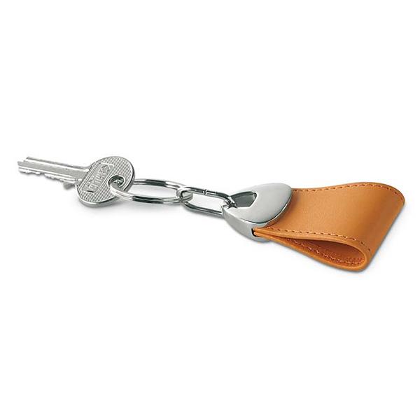 Schlüsselring Leder (mit Firmenlogo bedruckbar)