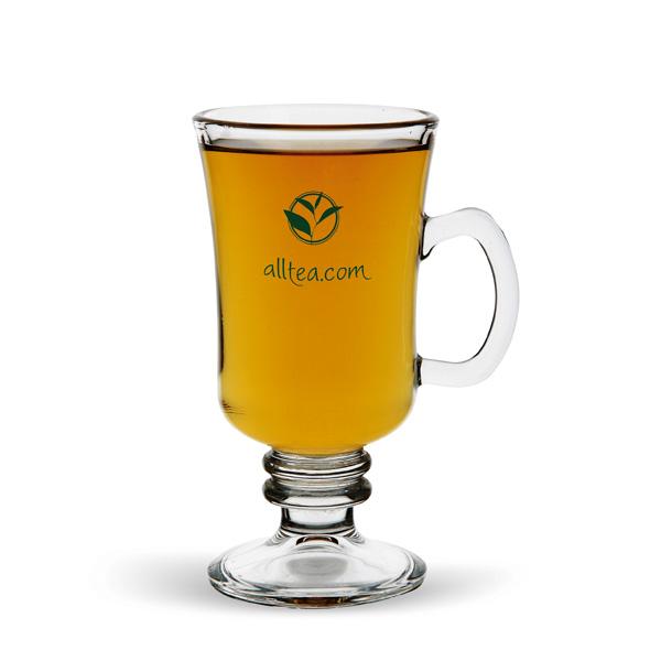 Teeglas bedruckbar als Werbegeschenk
