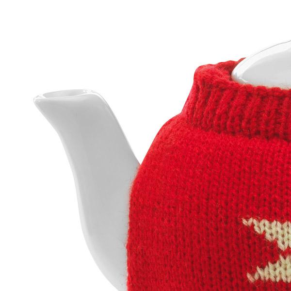 keramik teekanne in pullover als werbepr sent zu weihnachten m nchen. Black Bedroom Furniture Sets. Home Design Ideas