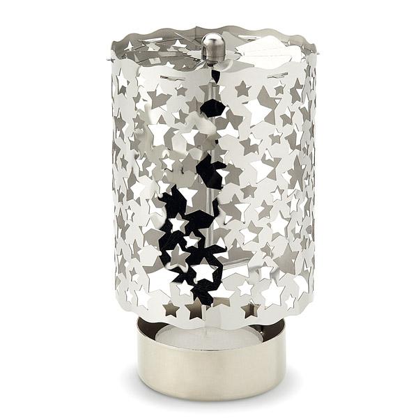Metall Teelichthalter als Werbepräsent zu Weihnachten