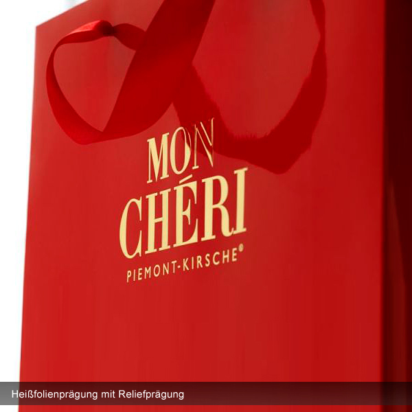 Classic Papier Tragetasche – Boutique Tüten – bedrucken