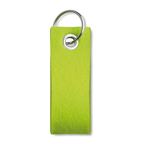 Schlüsselanhänger aus Filz (bedruckbar mit Logo)