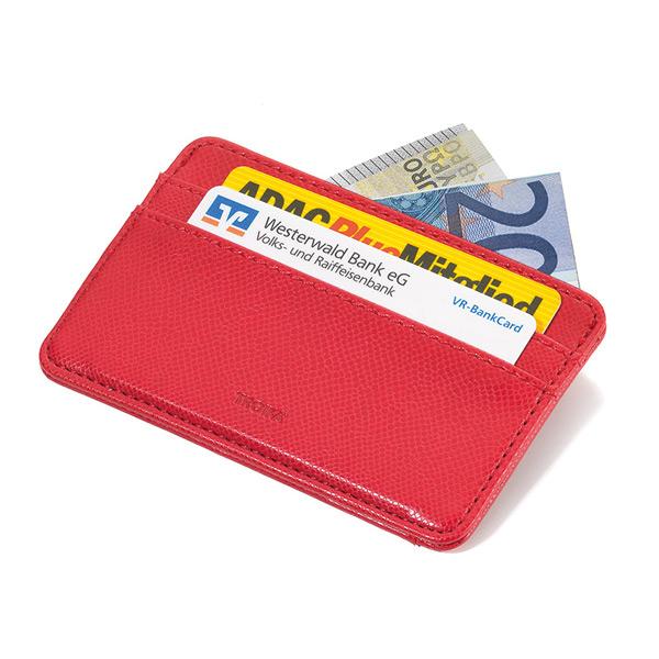TROIKA Kreditkartenetui rot