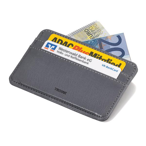 TROIKA Kreditkartenetui grau