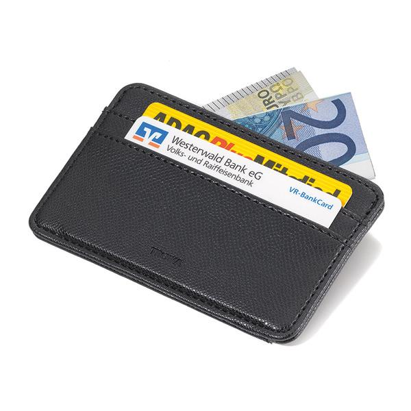 TROIKA Kreditkartenetui schwarz