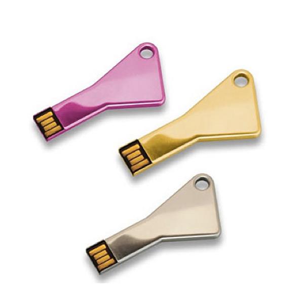 USB-Stick im Schlüssel Design (zum Bedrucken)