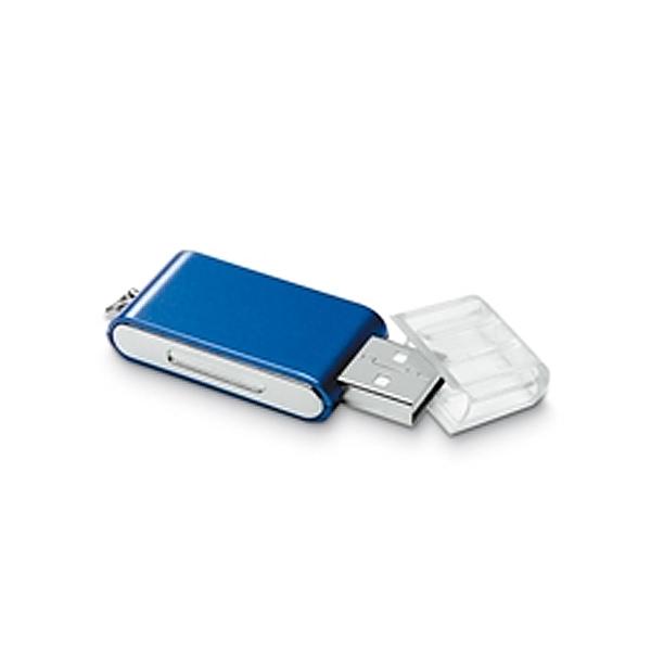 USB Stick als Designform mit Schutzkappe