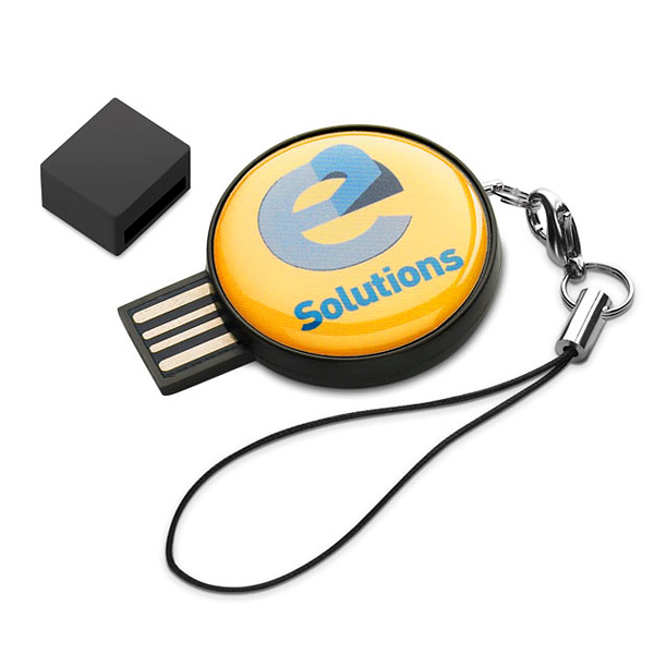 USB-Stick mit Doming (bedruckbar als Werbeartikel)