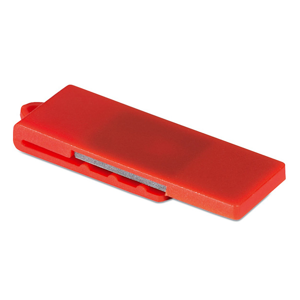 USB Stick aus buntem Kunststoff (mit Logodruck als Werbemiitel)