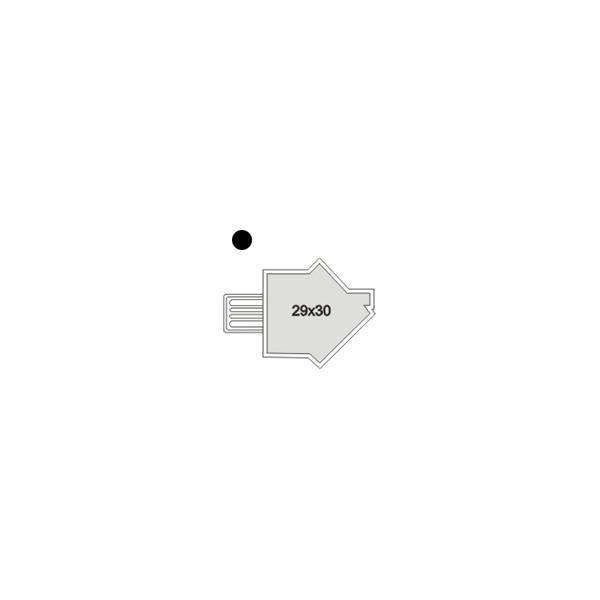 USB Stick Haus bedruckbar als Werbeartikel MÜNCHEN