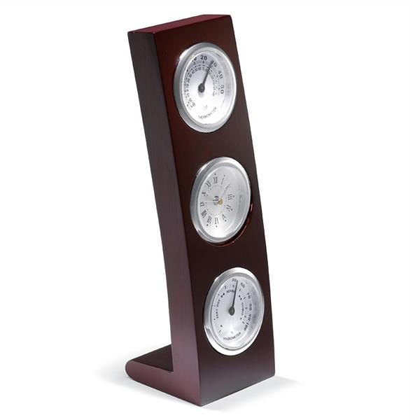 Uhr, Thermometer und Hygrometer in Einem (bedruckbar)
