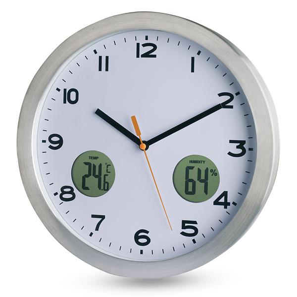 Multifunktionelle Wand-Uhr (bedruckbar)
