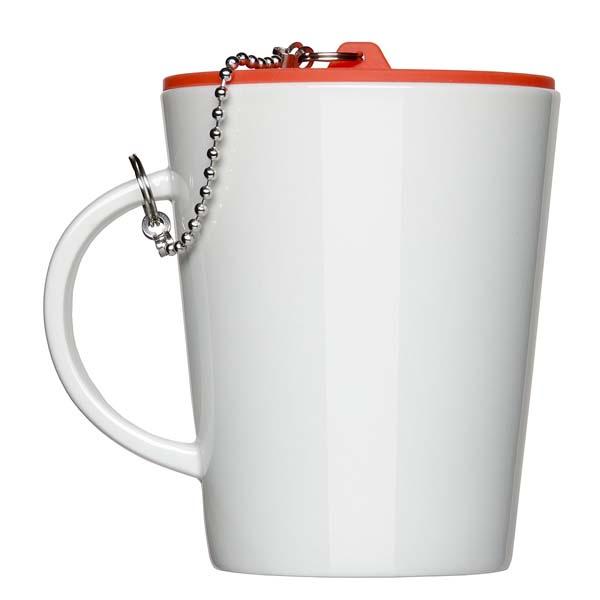 Kaffeebecher mit Stöpsel 0,35l als Werbeartikel