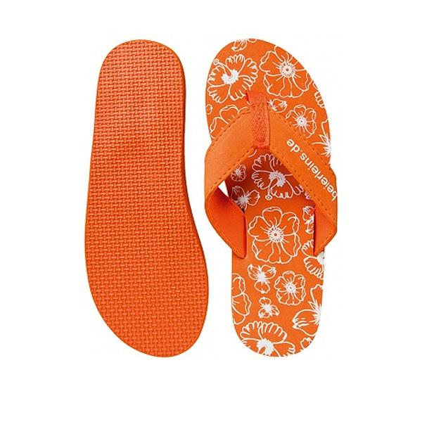 Badeschuhe orange (mit Firmenlogo bedrucken)