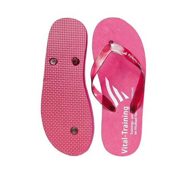 Badeschuhe rosa-pink (Werbeartikel bedruckbar)