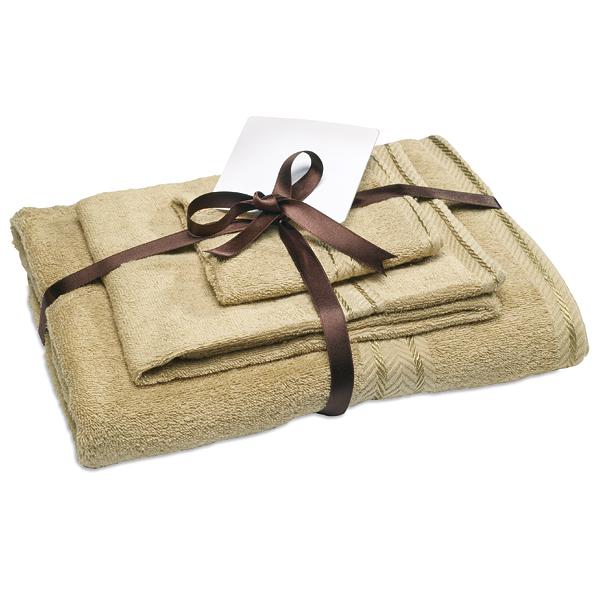 Handtücherset (bedruckbar als Werbegeschenk)