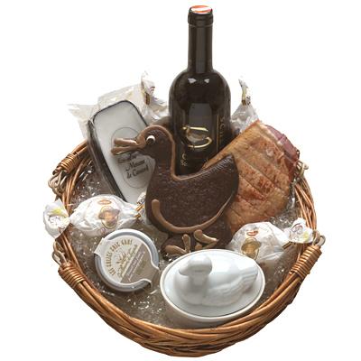 Entenbrust und Lebkuchen im Set als Geschenk Präsent