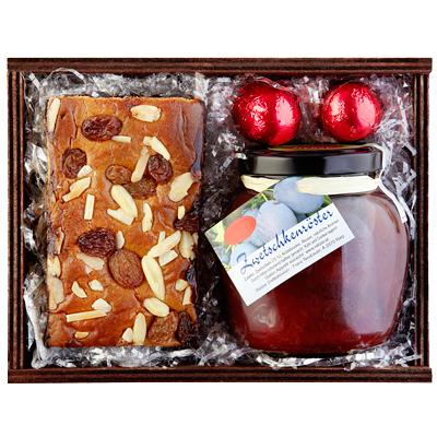 Lebkuchen und Pralinen im als Werbepräsente Weihnachten