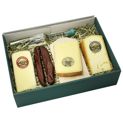 Käse Geschenk Set Käsemix als Werbegeschenk