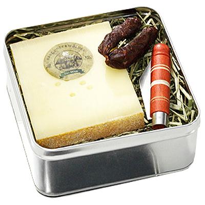 Käse Geschenk Set Wanderschaft als Werbepräsent